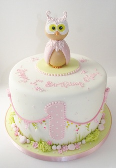 Owl Birthday Cake, The Frostery, Oldham, Greatre Manchester