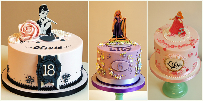 Edible Image birthday cakes by Manchester's The Frostery