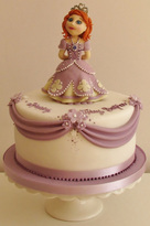 Princess Birthday Cake, The Frostery, Oldham, Lancashire