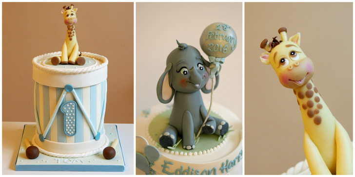 Cute character birthday cakes from The frostery, Lancashire
