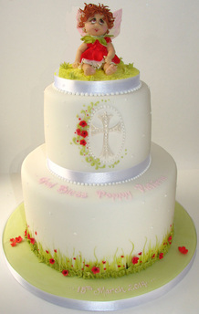 Bespoke Christening Cake by The Frostery Greater Manchester
