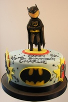 Batman Birthday Cake, The Frostery, Oldham, Lancashire