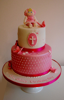 Bespoke Christening Cake by The Frostery, Greater Manchester