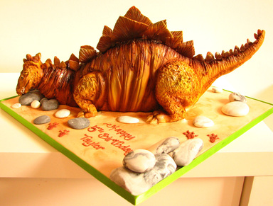 Dinosaur Birthday Cake, The Frostery, Oldham, Lancashire