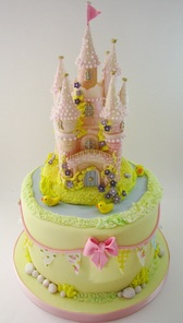 Fairy Castle Birthday Cake, The Frostery, Oldham, Greater Manchester