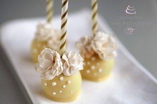 Wedding favours - cake pops, The Frostery, Oldham, Lancashire