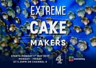 Channel 4 Extreme Cake Makers featuring Suzanne Thorp at The Frostery, North West Wedding Cakes