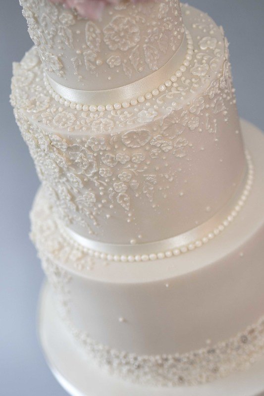 Elegant Wedding Cake The Frostery