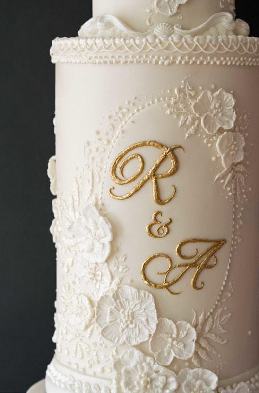 The Frostery Bespoke Wedding Cake Design