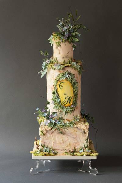 The Frostery Bespoke Wedding Cake Design