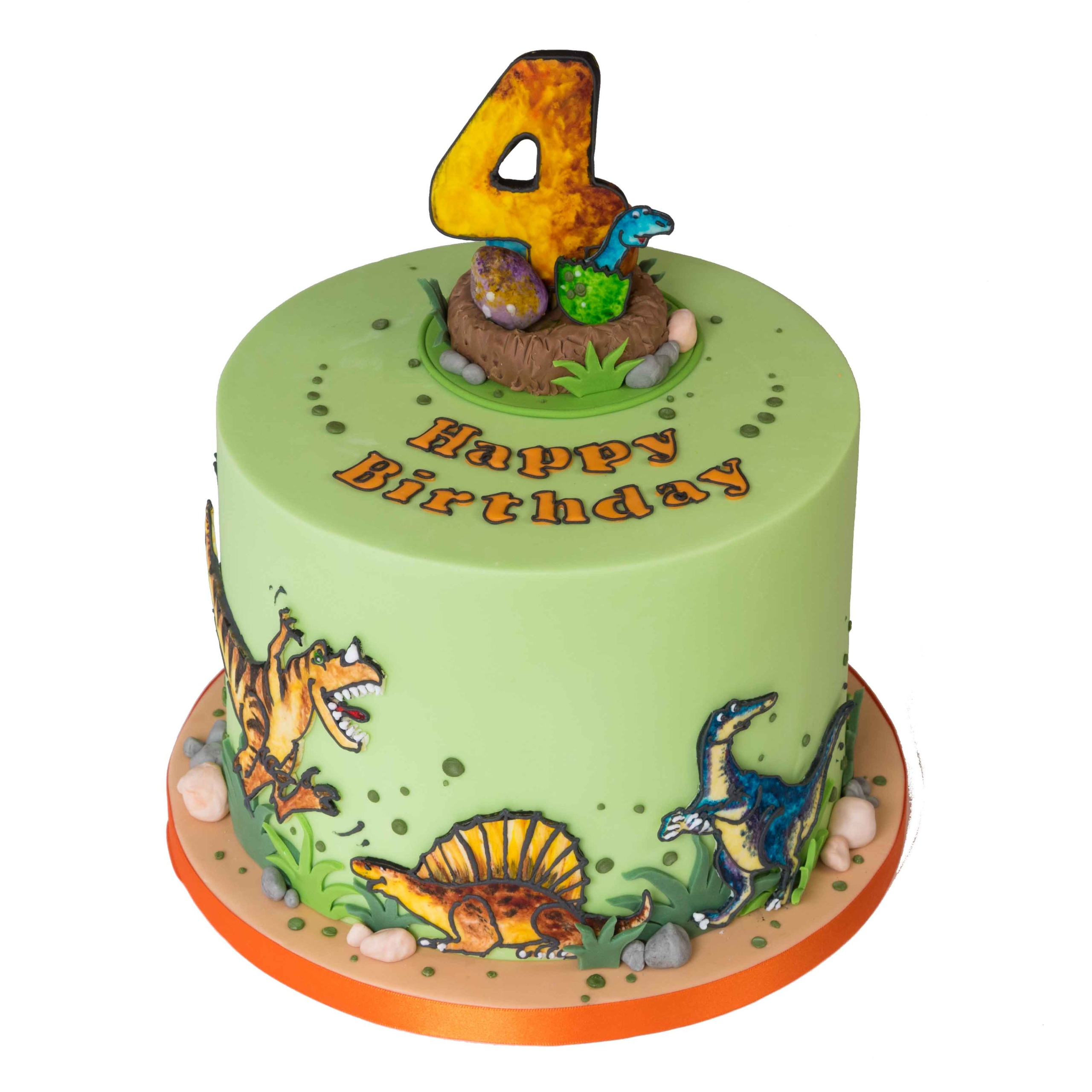 Dinosaurs Birthday Cake Designs